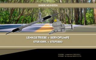 STSR1089L - Lenkgetriebe FORD KUGA I STSP5880 - Servopumpe BMW X5 (E70)