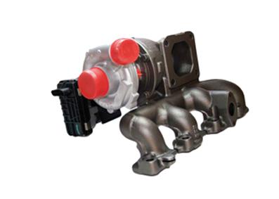 Turbolader der Firma Servotec
